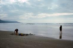 Sept 76, Barmouth Beach