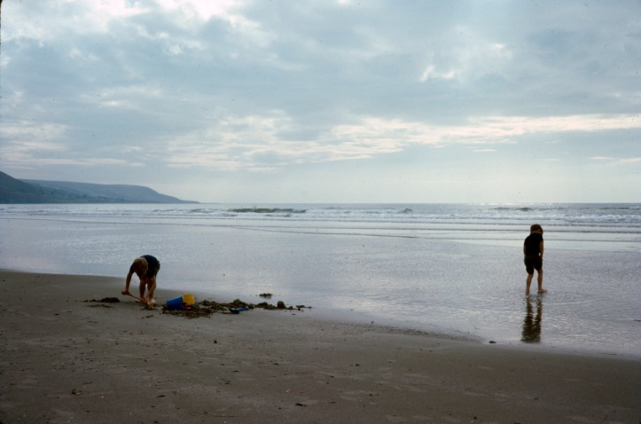 Sept 76, Barmouth Beach